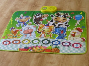 Animal Party Fun Playmat  with music and animal sounds.